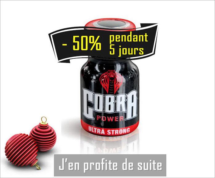 cobra poppers en promotion